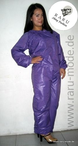 RARU Nylon Suit jumpsuit tailored with mask