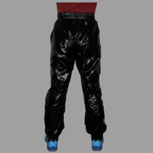 RARU gloss nylon Wetlook sweatpants sweatpants sports pants